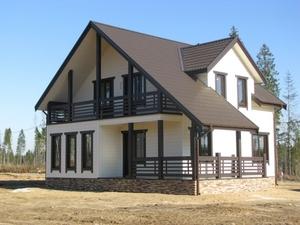 Производство и строительство каркасных домов. Бобруйск - Изображение #1, Объявление #1685776