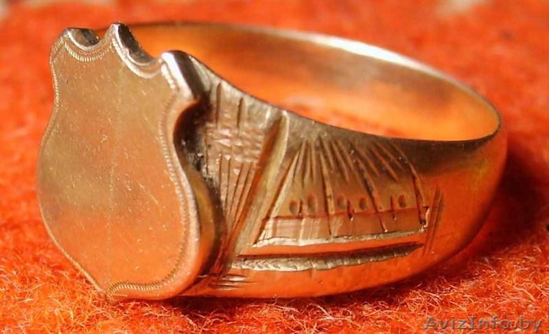 Продам антикварное золотое кольцо тел.моб. 375296494048 Александр. Частные объявления - продам, предлагаю: Кольца